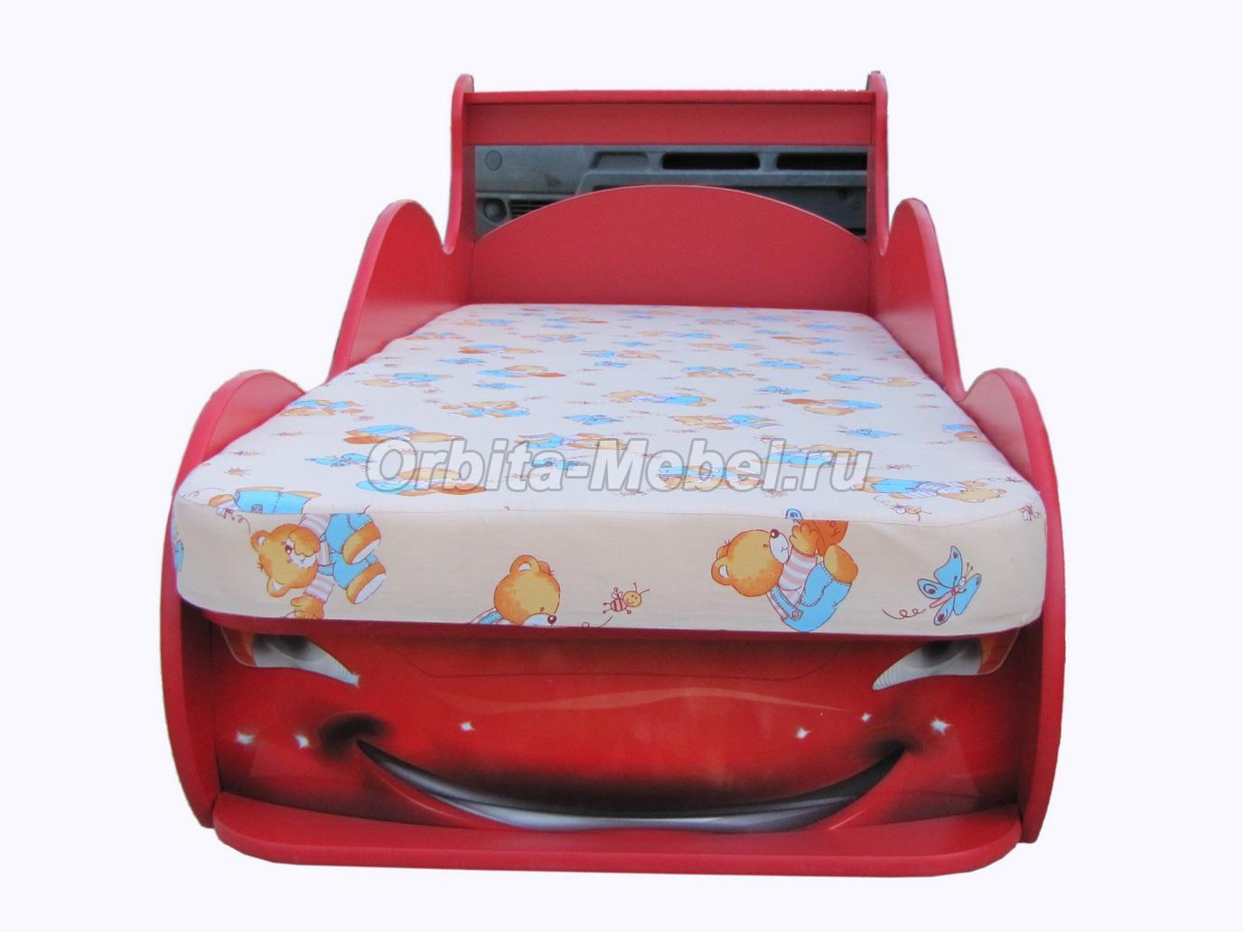 Кровать Машина Молния  Маквин - Каталог мебели Белгород 37.