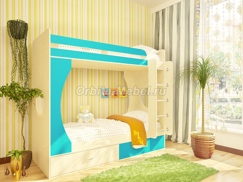 двухъярусные детские кровати в Москве