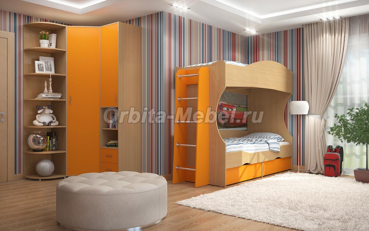 Купить кровать для двоих детей