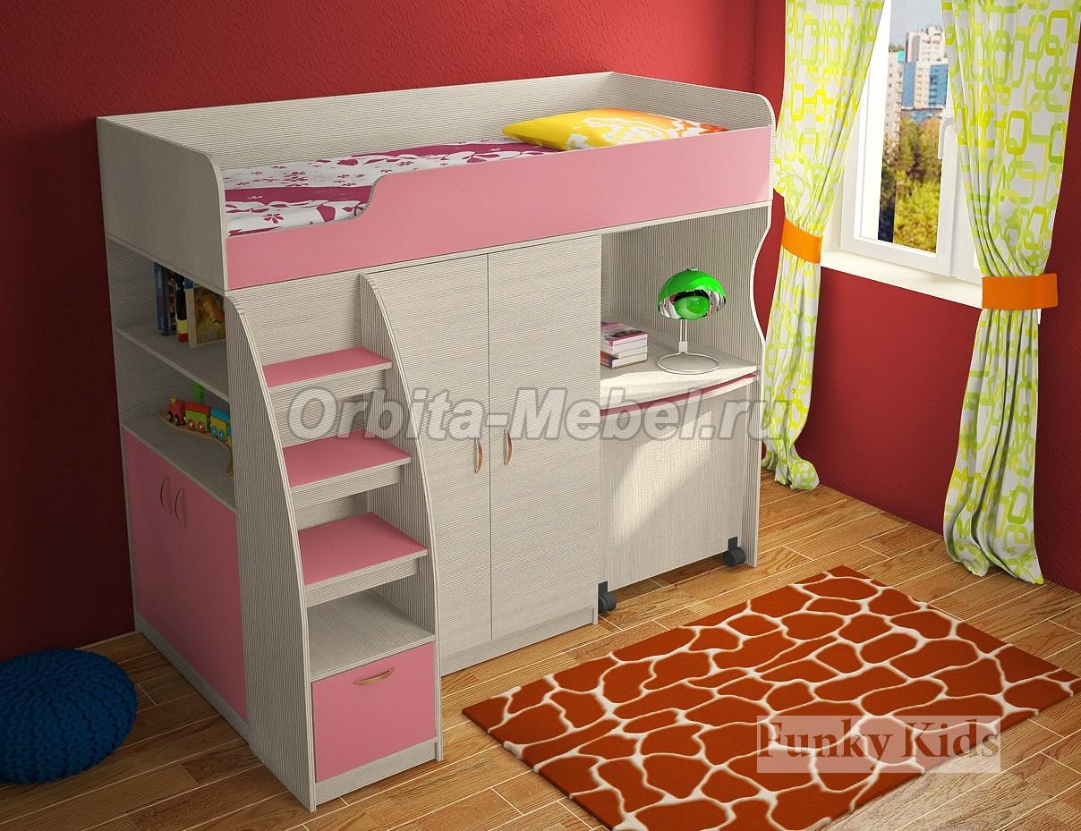 Купить детские кровати от 3 х лет со