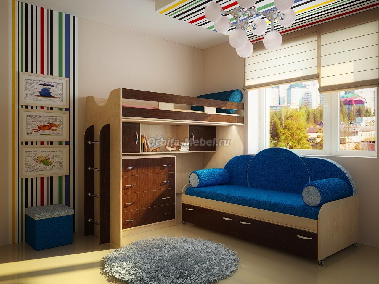 Кровать С Диваном Внизу Санкт-Петербург