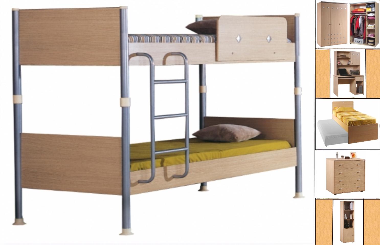 Детская мебель орбита 5 двухъярусная