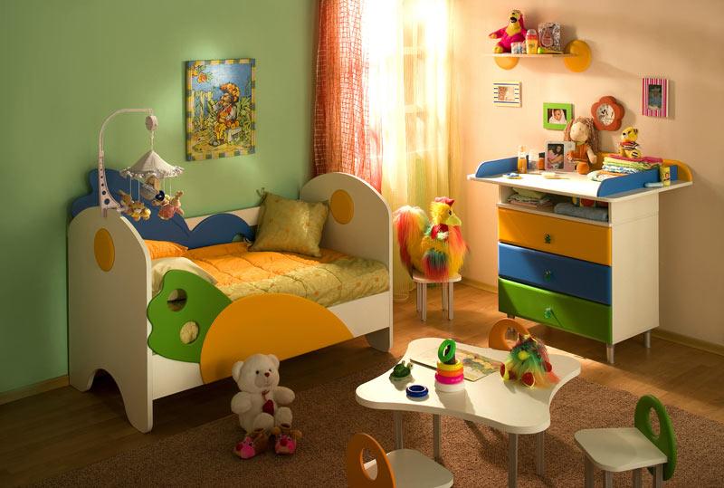 """Серия детской мебели  """"Малыш """" - сказочный мир, в котором Ваш малыш проведет первые годы..."""