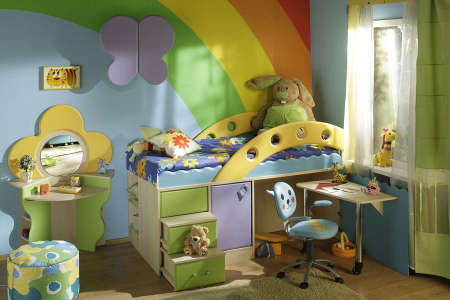 Детская мебель Городок фабрики Снайт